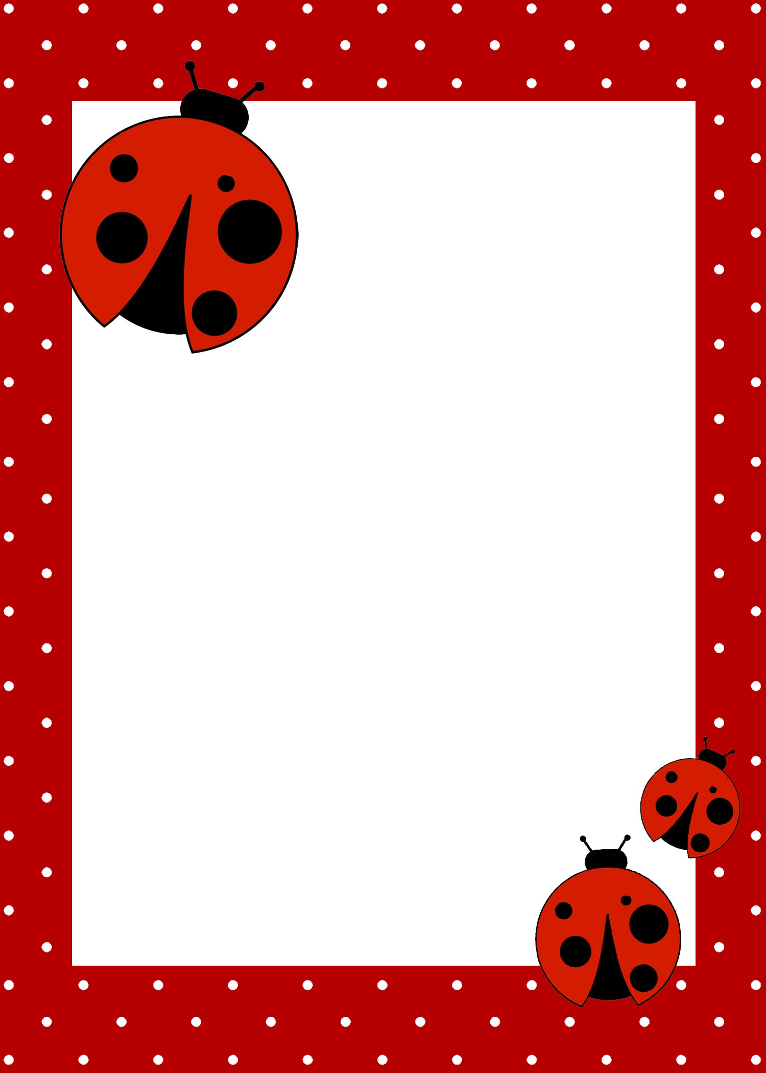 it for today! I hope everyone enjoys the FREE ladybug birthday party ...