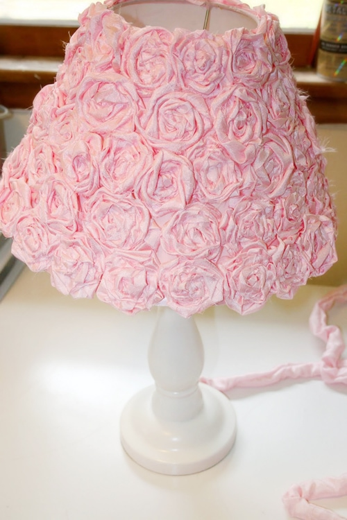 Rose Lamp Shade Diy Design Ideas