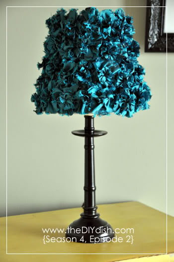 Get inspired lamp makeover ideas how to nest for less for Lamp making ideas