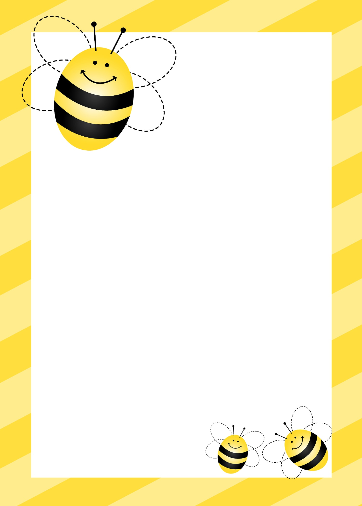 bumblebee birthday invitation