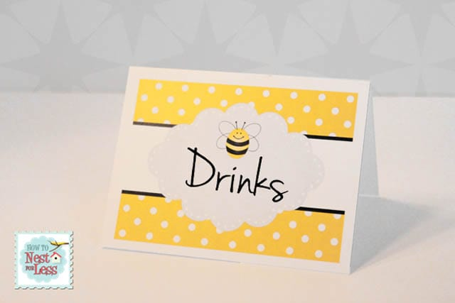 picture about Free Printable Bee Template identify Bumblebee Birthday Social gathering with Totally free Printables - How in the direction of Nest