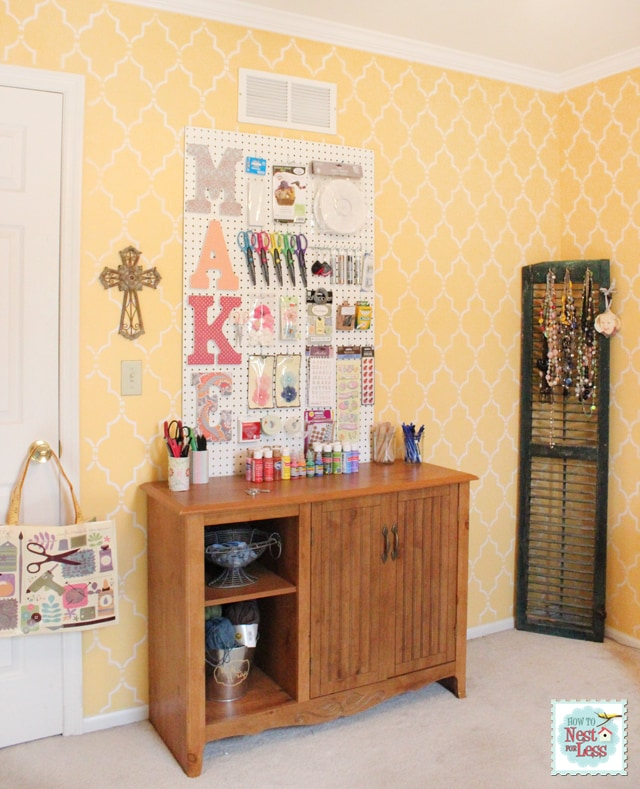 Craft Room Updates: The Good, The Bad, and The Ugly. - How to Nest ...