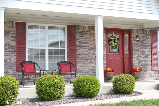 Front Porch Makeover How To Nest For Less