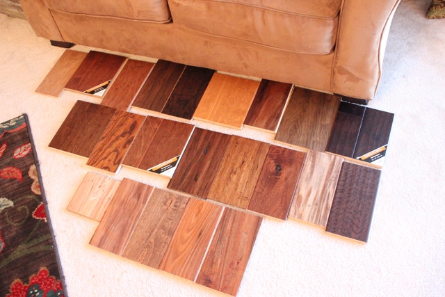 The hardwood flooring discussion how to nest for less for Hardwood floor choices