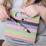 kid washi tape journal
