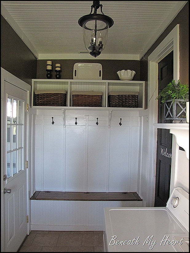 how to turn a garage into a utility room