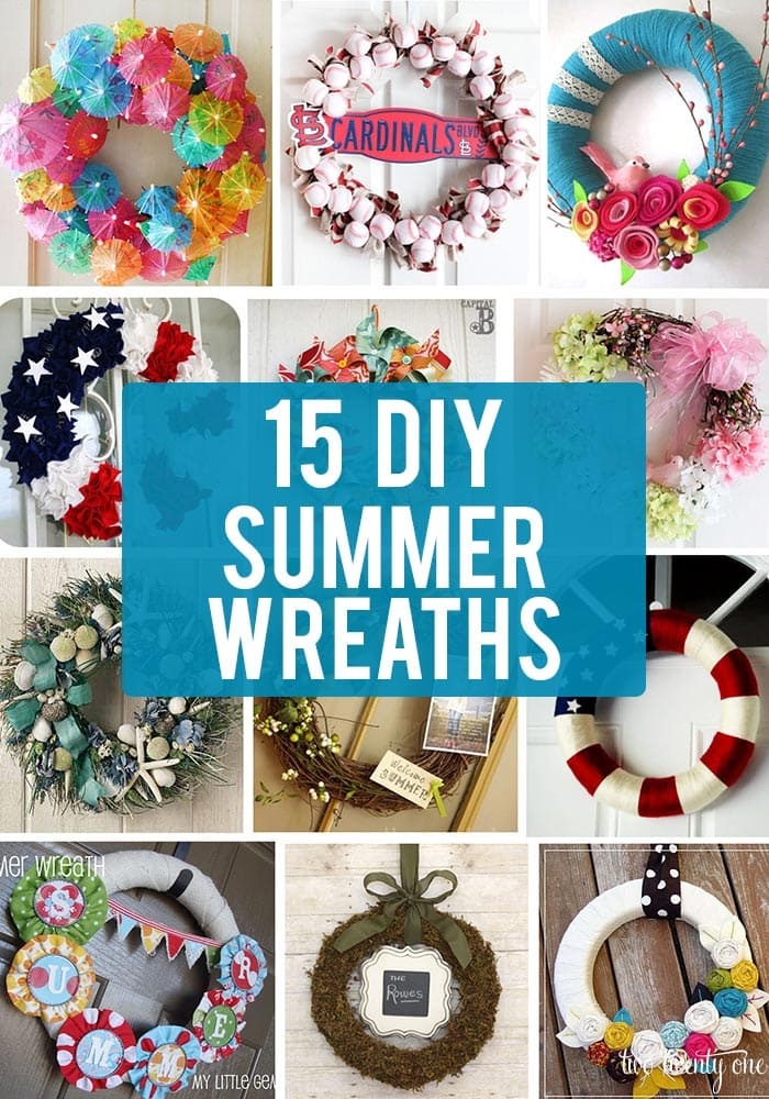 15 Summer Wreaths