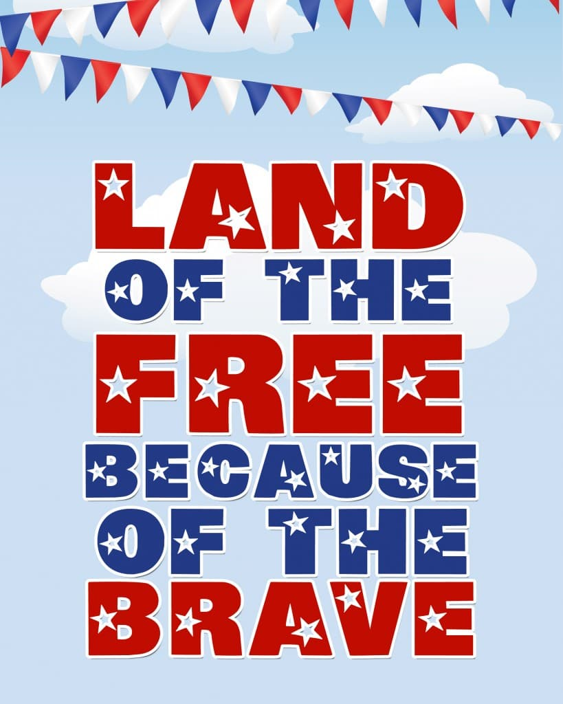 Happy Memorial Day! {free printable} - How to Nest for Less™