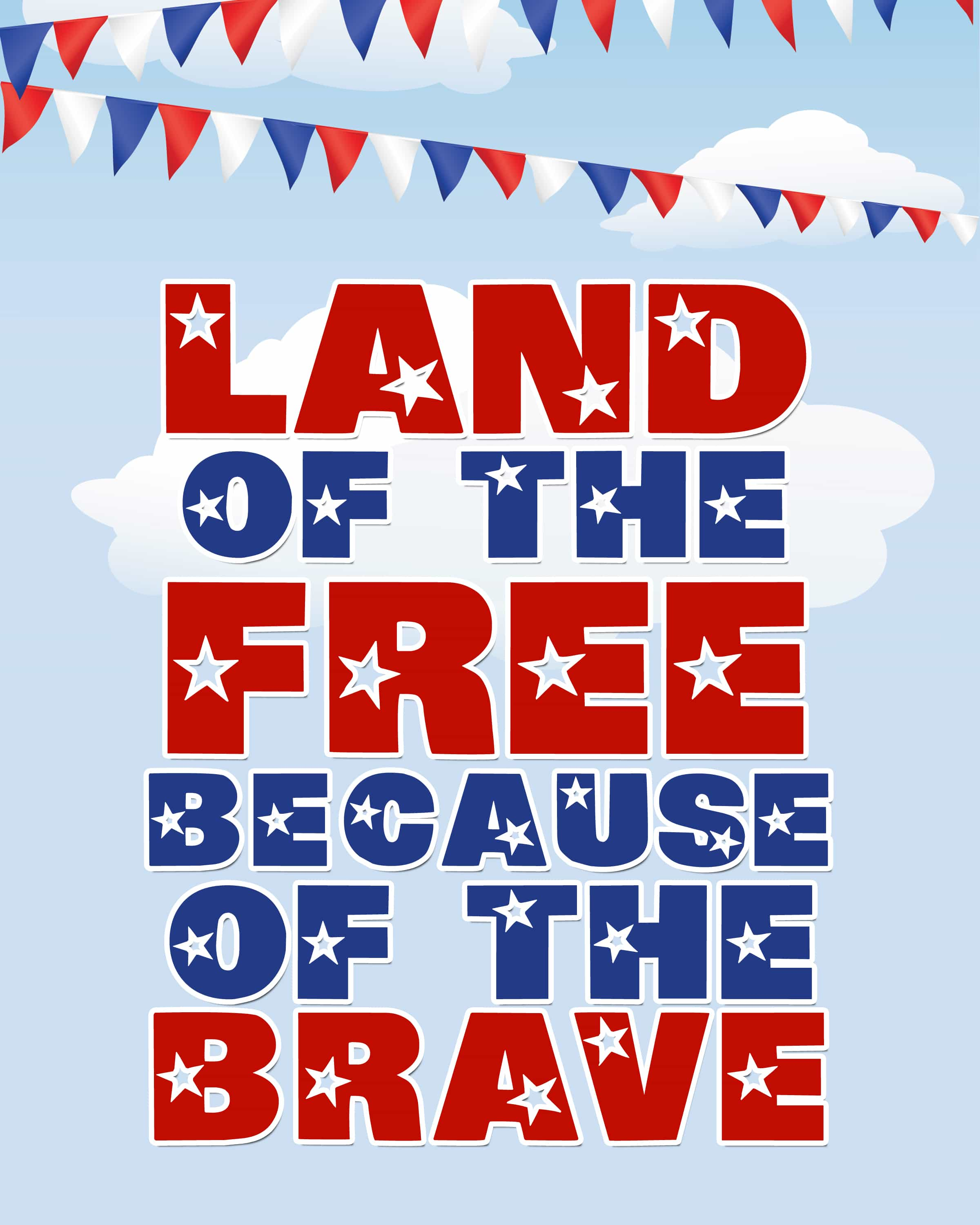 "picture regarding Closed for Memorial Day Printable Sign named Joyful Memorial Working day! free of charge printable - How in the direction of Nest for Lessâ""¢"