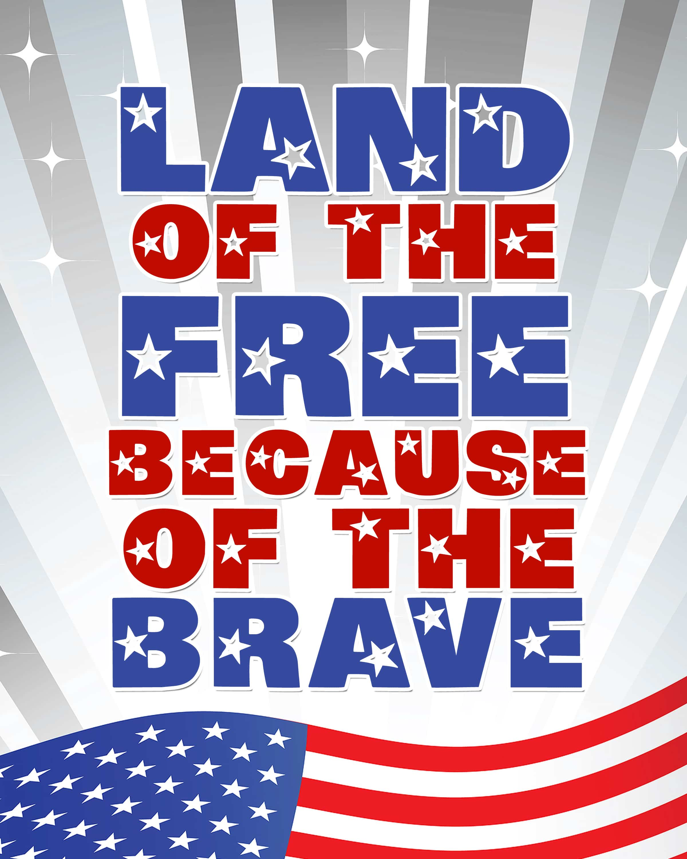 Happy Memorial Day {free printables}
