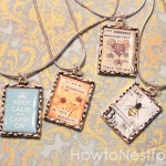 graphic vintage necklaces