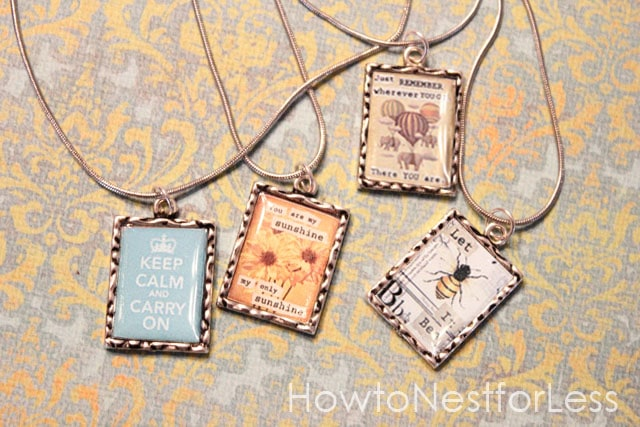 Vintage Inspired Pendant Necklaces