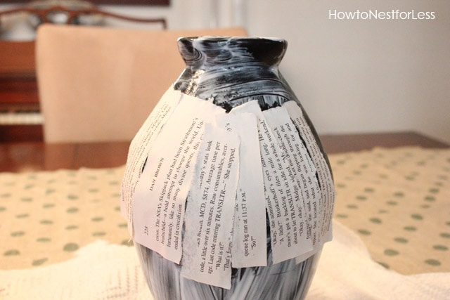 5 Minute Craft Book Page Vases How To Nest For Less