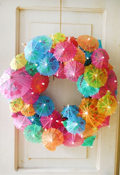 Get inspired 15 fabulous diy summer wreaths how to nest for Diy summer wreath