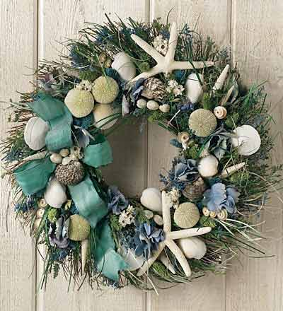 Marvelous Summer Shore Wreath From Wind And Weather