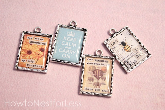 Vintage inspired pendant necklaces how to nest for less first mozeypictures Gallery