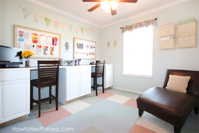 Craft Room Makeovers: HOME TOUR: My House In Progress