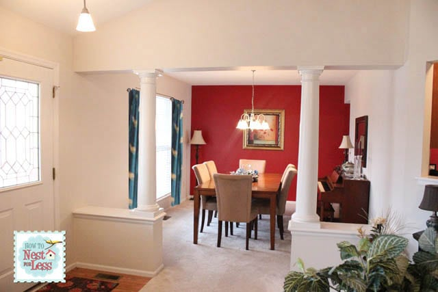 weve had red - Dining Room Red Paint Ideas