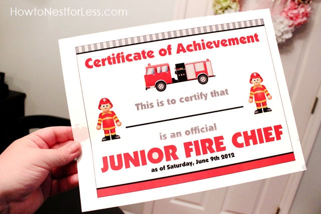 Fire Engine Invitations is great invitations template