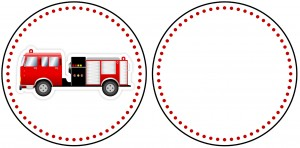 A fire truck image to print.