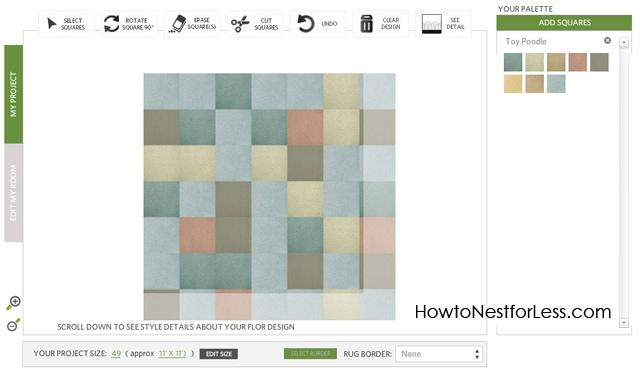 Flor Carpet Tiles box multicoloured tiles.