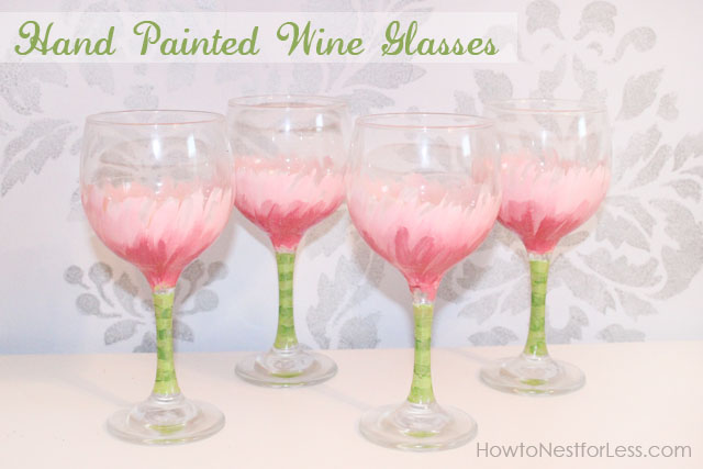 Easy Painted Shot Glasses