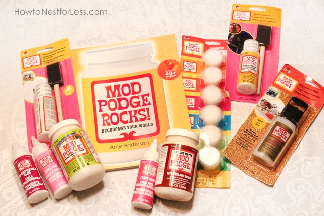 Mod Podge Book Review & Swag Box GIVEAWAY!
