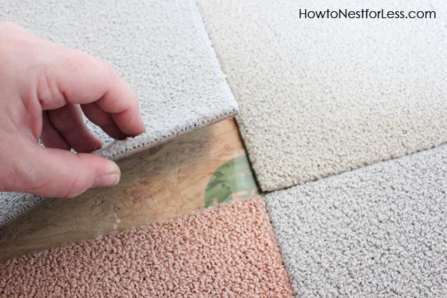 install flor carpet tiles