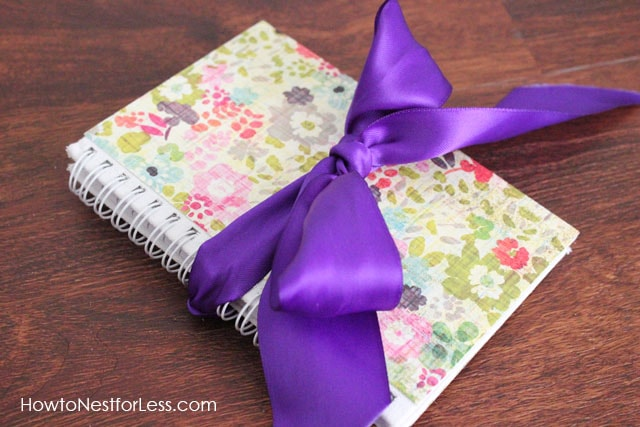 Scrapbook Paper Covered Journal