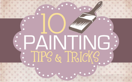 Painting 101 for furniture walls and more how to nest for Cool watercolor tricks