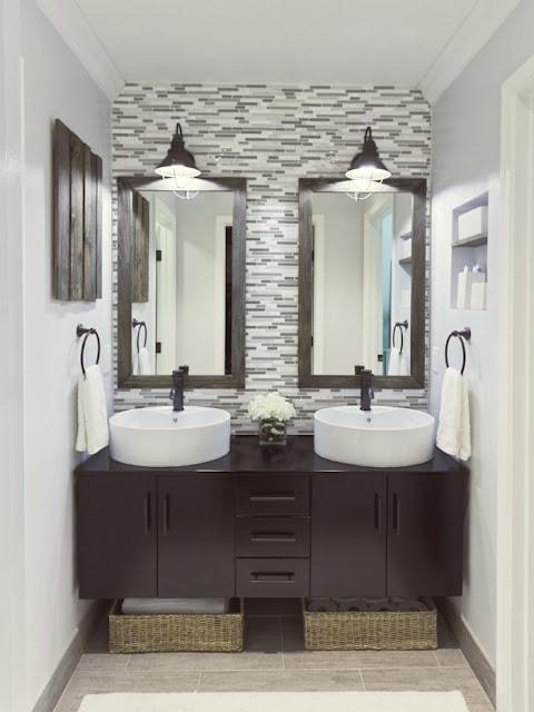 ... Inspired: 15 Incredible Bathroom Makeovers - How to Nest for Less