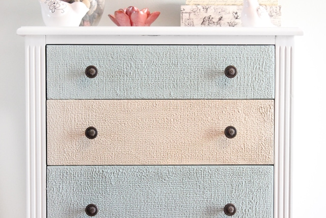 front of drawers