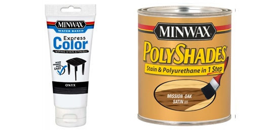 Express color Miniwax and polyshades.