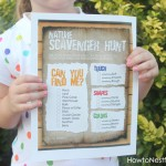 Nature Scavenger Hunt for the Kids {FREE Printable}