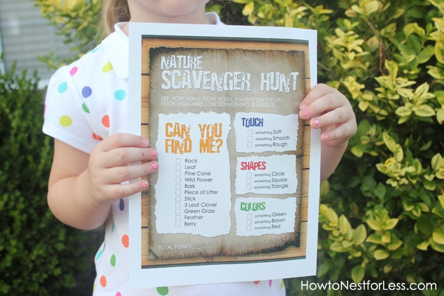 graphic relating to Nature Scavenger Hunt List Printable called Character Scavenger Hunt for the Youngsters Cost-free Printable - How toward