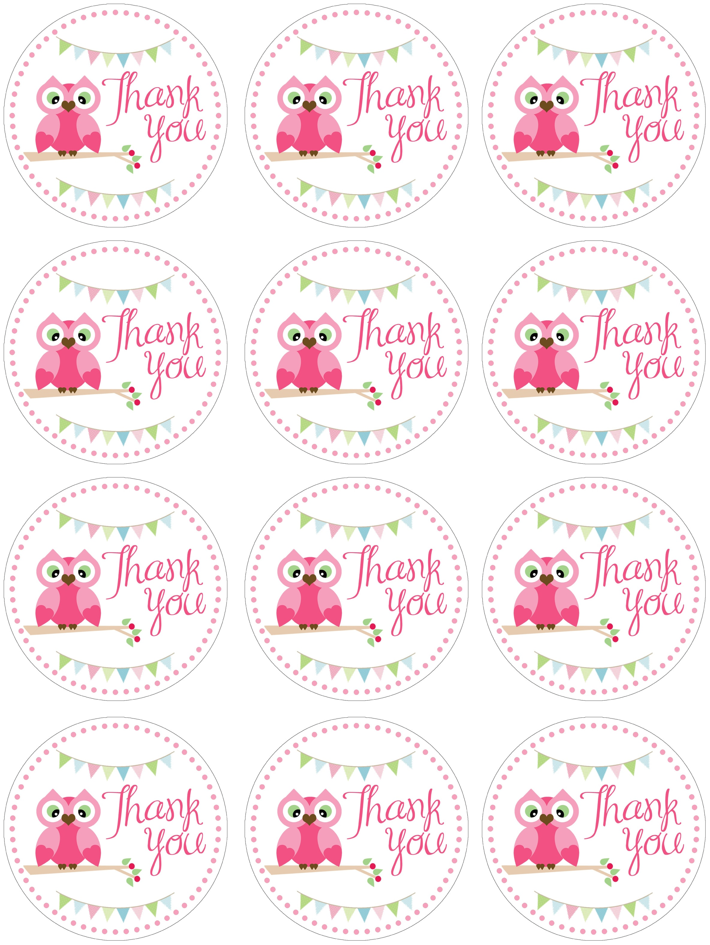 Owl themed birthday party with free printables how to nest for less click image to print negle Image collections