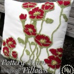 Pottery Barn Knock-Off Pillows {Guest Post from The Scrap Shoppe}