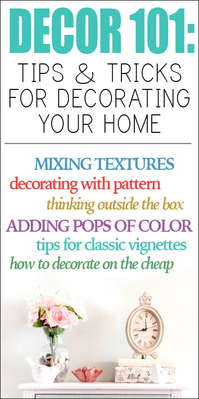 decor tips for decorating your home