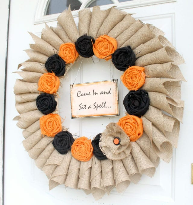 get inspired  15 fabulous fall wreaths