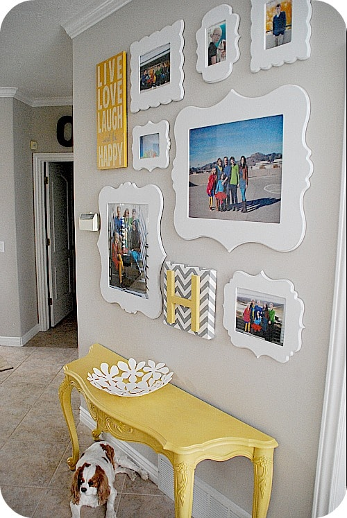 Apartment entryway mirror: colorful makeover manhattan apartment ...