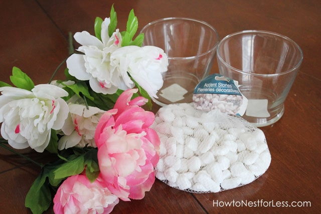 Dollar Store Flower Vase Centerpieces - How to Nest for Less™