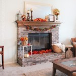 fall mantel decorations