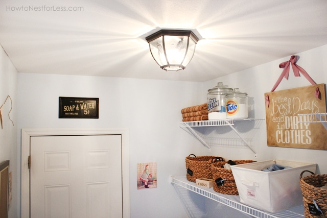 Laundry Room Makeover Reveal!