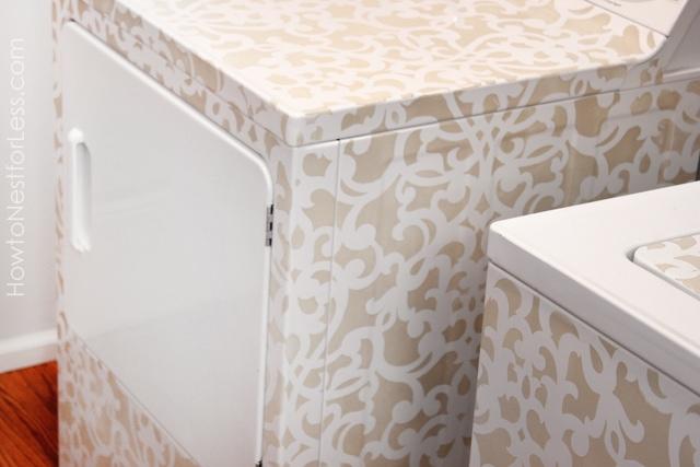 stenciled-dryer-detail