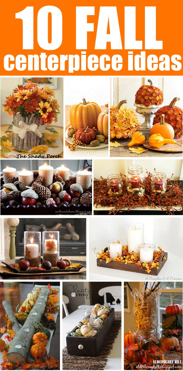 10 fall centerpiece ideas