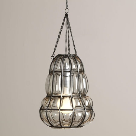 Get inspired 17 light fixtures i love how to nest for less blown glass bottle pendant mozeypictures Gallery
