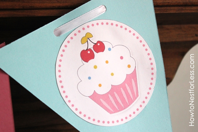 cupcake birthday party with free printables how to nest for less
