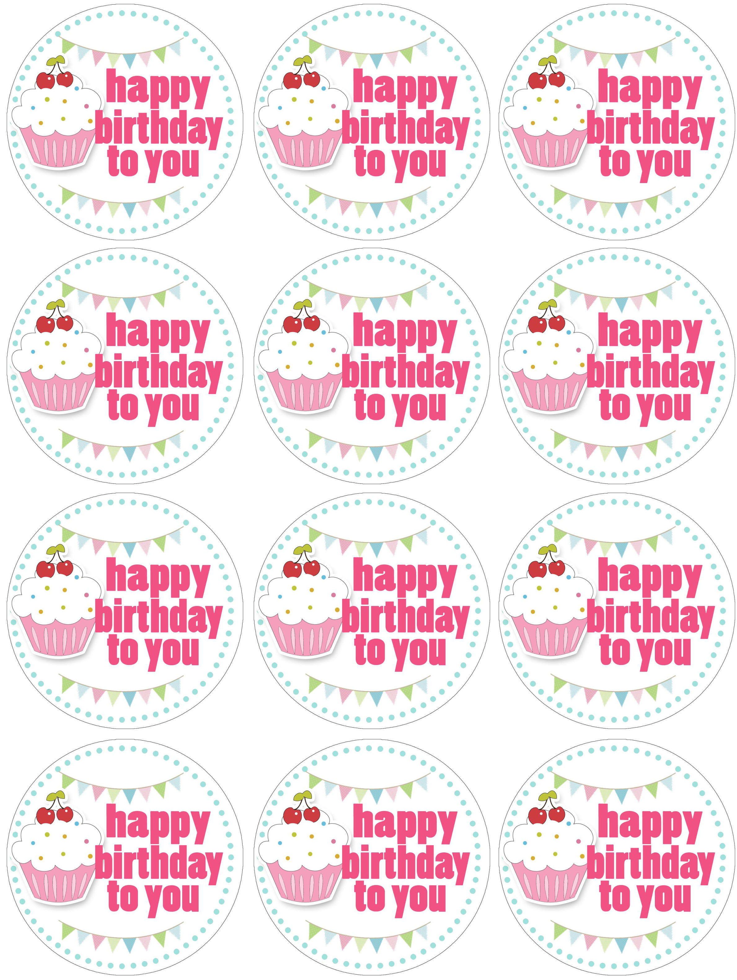 Cupcake Themed Birthday Party with FREE Printables - How to Nest for ...