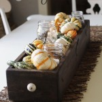 fall-table centerpiece