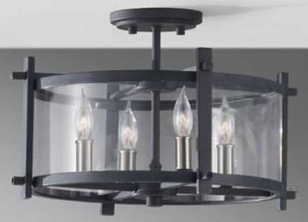 Ellis Semi Flush Mount Light ...